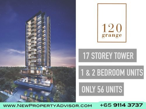 120 grange condo singapore 17 storey tower