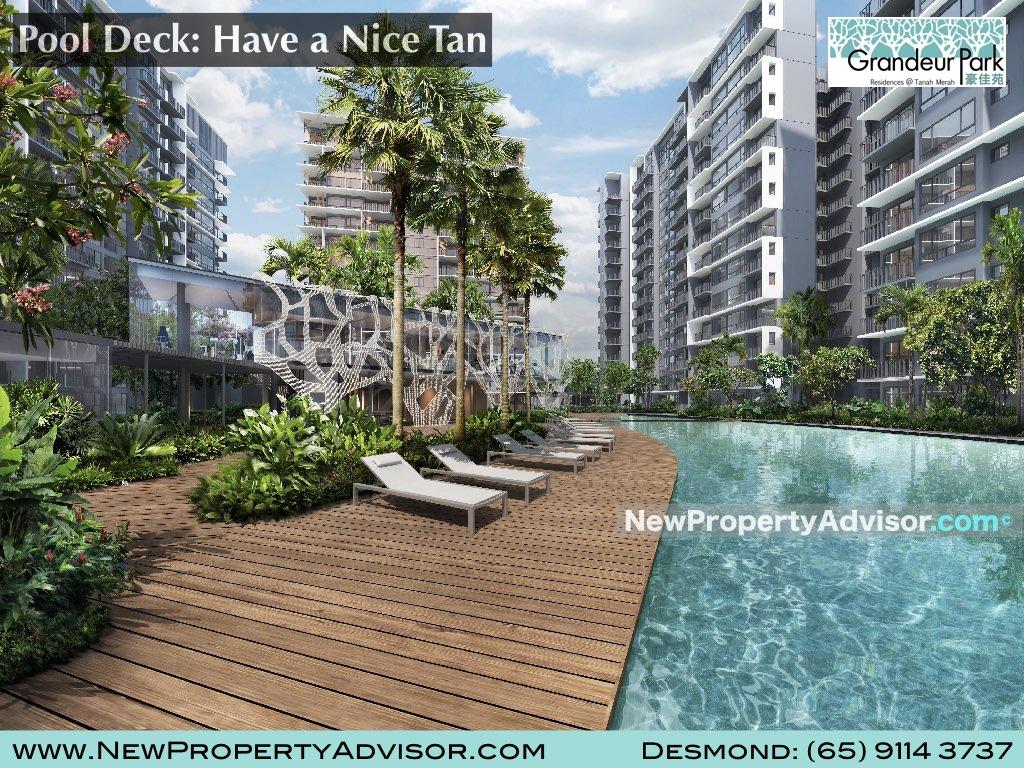 Grandeur Park Suntan Pool Deck