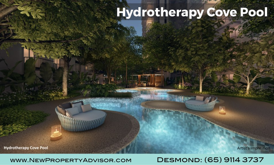 Florence Residences Hydrotherapy Cove Pool