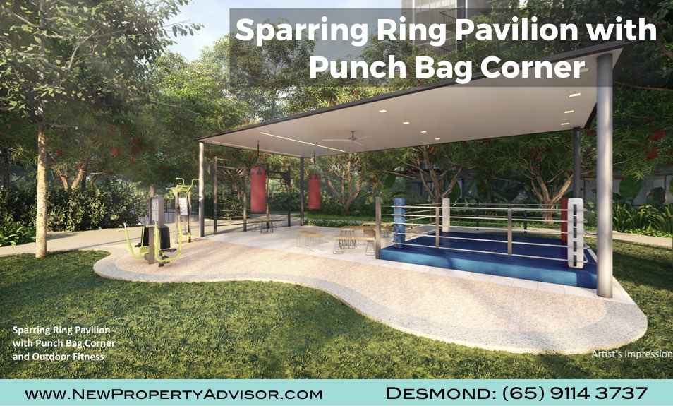 Florence Residences Sparring Ring Pavilion