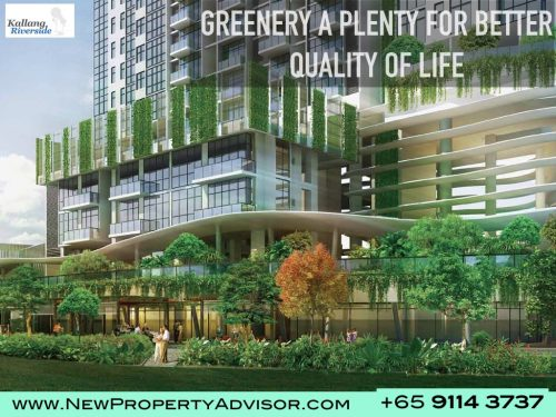 Kallang Riverside Condo Greenery