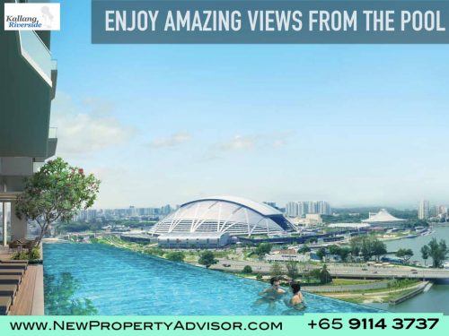 Kallang Riveside Condo Pool