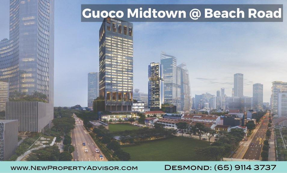 Midtown Bay Guoco Singapore at Beach Road