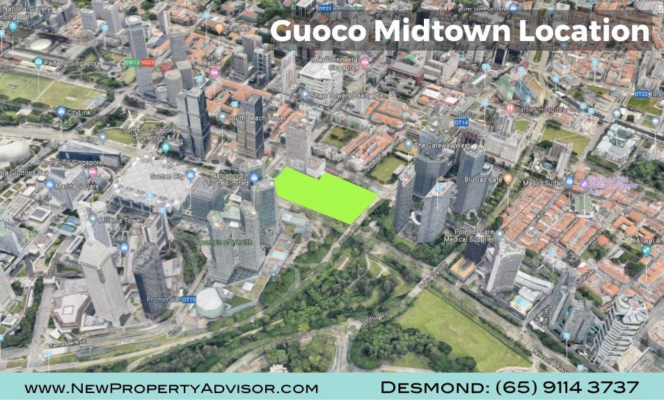 Midtown Bay Guoco Singapore near Suntec