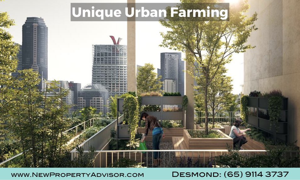 One Pearl Bank Urban Farming
