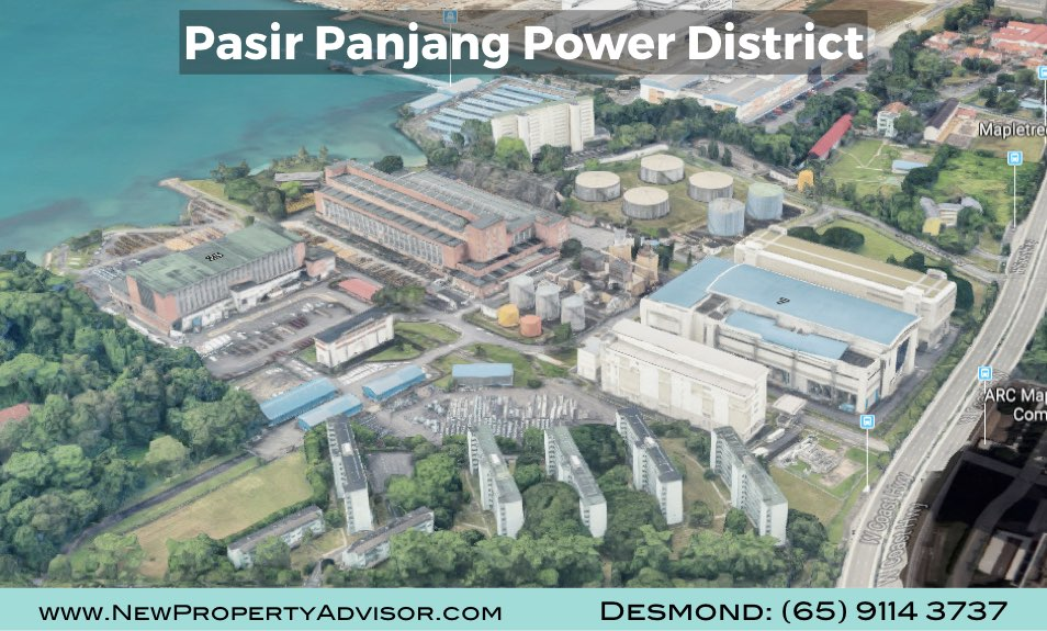 Pasir Panjang Power District