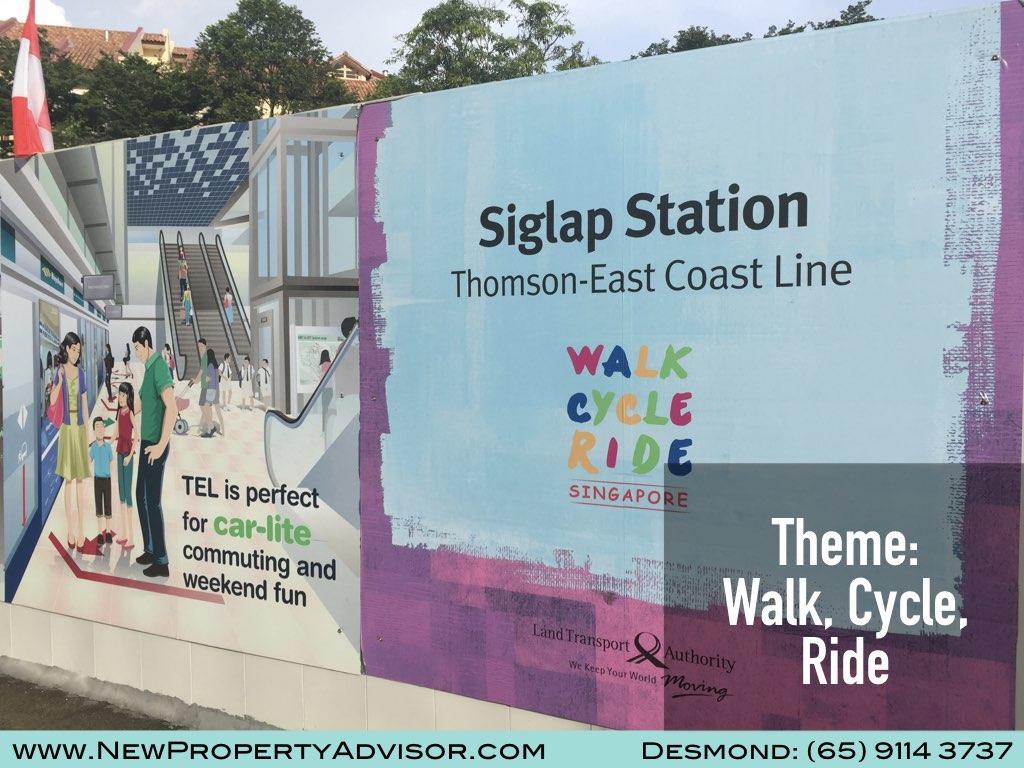 Siglap MRT Thomson East Coast Line (TEL).001