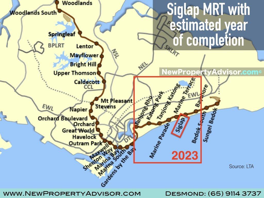 Siglap MRT Thomson East Coast Line (TEL).002