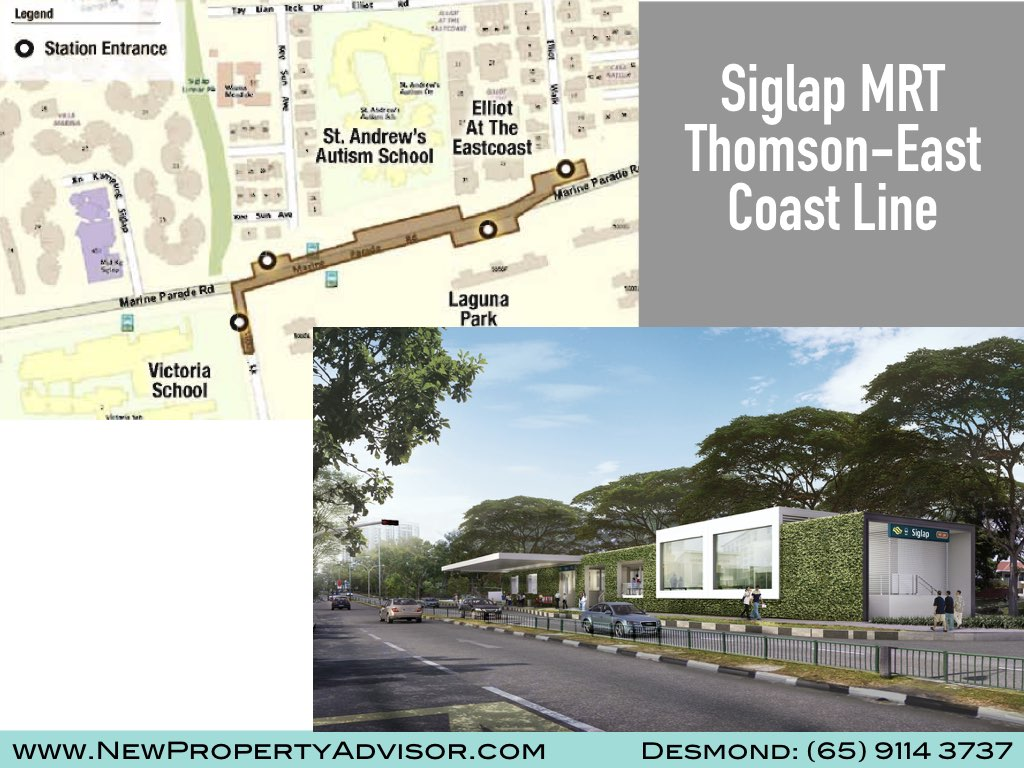Siglap MRT Thomson East Coast Line (TEL).003