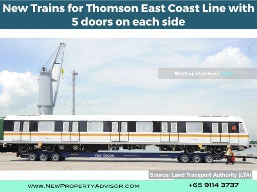 TEL new trains five doors