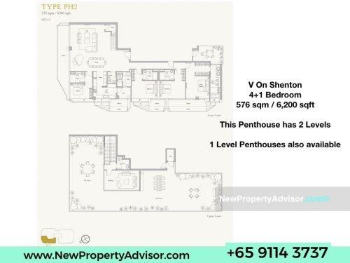 V On Shenton Penthouse Singapore .002